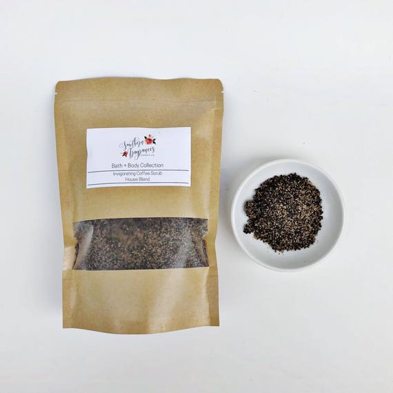 Invigorating Coffee Scrub | 12oz Resealable Bag | House Blend Scrub