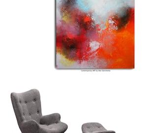 Abstract painting by Alex Senchenko . Contemporary ART . abstract art . Modern , original , wall art , decor .  abstract painting . abstract