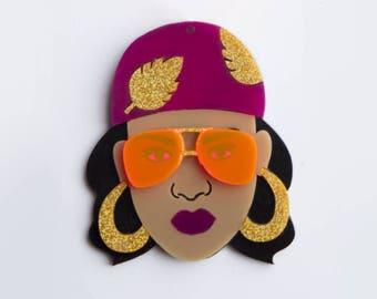 Rihanna 'Wild Thoughts' Badge