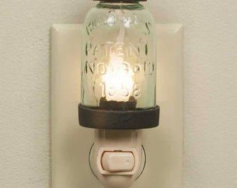 Nauvoo Mason Night Light