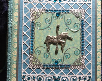 Turquoise unicorn journal