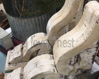 Corbel set wood corbels for shelf corbel for mantel home decor bookends