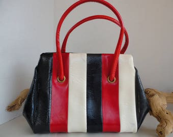 Red White & Blue Handbag