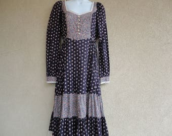 Montgomery Ward Floral Dress