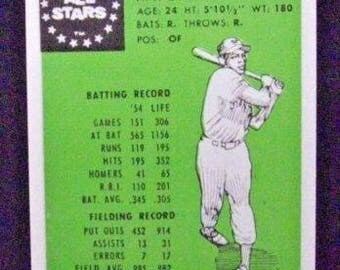 1955 Robert Gould All Stars #1 Willie Mays  [New York Giants] Repro
