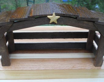 Rustic Nativity Scene Stable/Shed/Barn