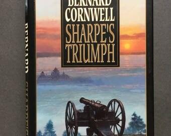 Vintage Richard Sharpe Adventure: Sharpe's Triumph by Bernard Cornwell, HC, 1st/1st