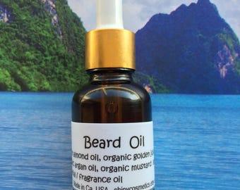 Beard oil with Mustard Oil, Essential / Fragrance oil and Argan oil.....