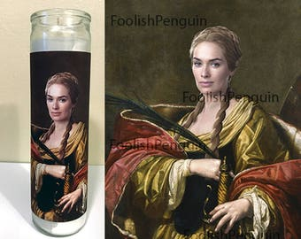 Cersei Lannister Devotional Candle