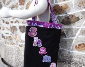 Bag k notebook 21 x 29, 7 cm, customizable name.