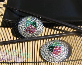 California Roll Sushi Pasties/Hair Clips