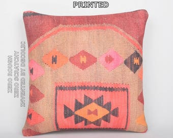antique prints decorative pillow cover bohemian pillows rustic throw pillow case shabby chic pillow boho tapestry bright kilim pillow 63-40