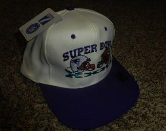 Vtg NWT Green Bay Packers NFL Logo 7 Super Bowl XXXI Snapback Cap Hat