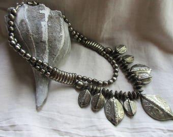 Vintage Ethnic Silver Necklace