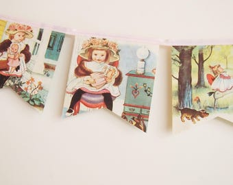 My dolly and Me book bunting
