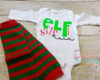 Elf Size onesie set