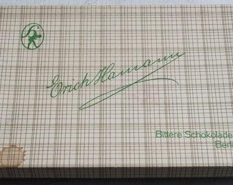 Box of chocolates Hamann 50s 60s 70s 50 s 60 s 70 s vintage gift box Berlin