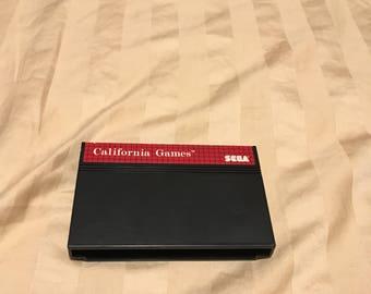 Sega Master System California Games