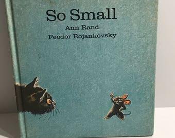 So Small by ann rand and feodor rojankovsky 1962