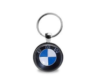 Vintage BMW emblem Key Chain or Pendant