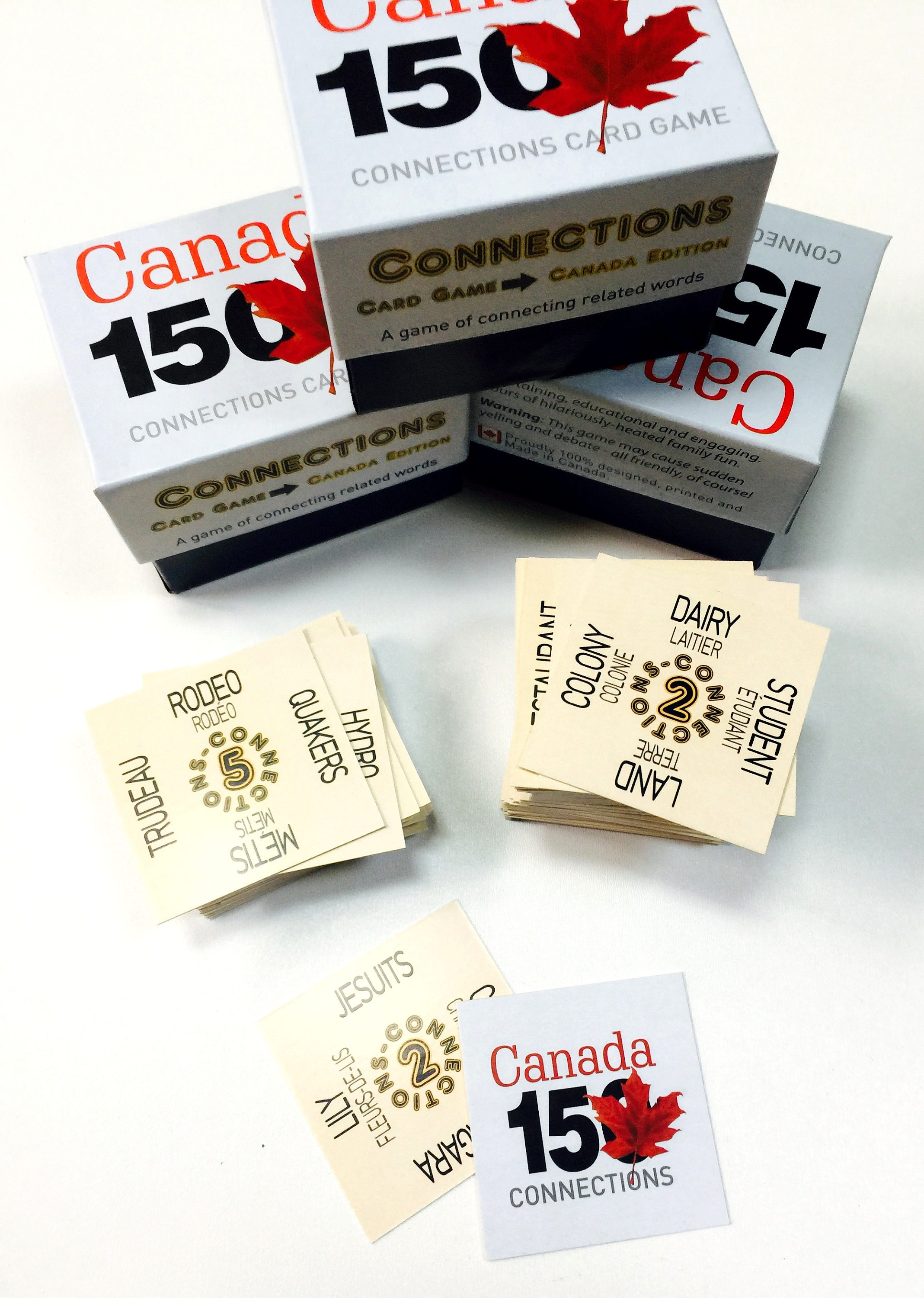 Canada 150 Connections Game