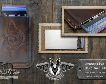 Dutch Veteran Biker Card wallet (Brothers in Arms - Brothers on bikes) RFID protected