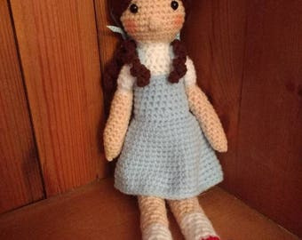 Dorothy from Wizard of Oz/ Amour Fou/Collectable/Handmade/Amigurumi/Crochet