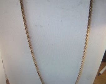 antique gold filled chain..