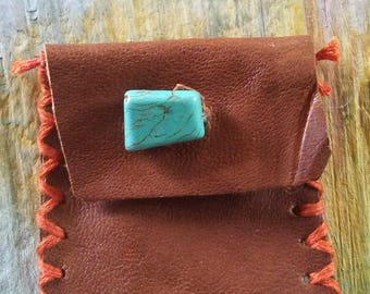 Little Italian Leather pouch