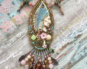 Native man Necklace
