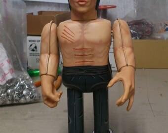 Bruce Lee Clockwork Tin Toy Nostalgic Future Medicom Tin Toy