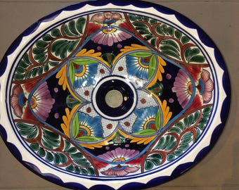 Free Shipping on Beautiful Talavera Sink