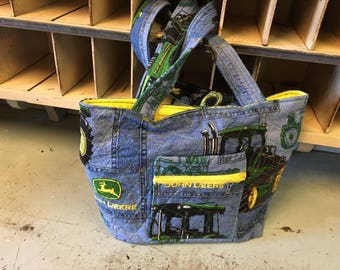 John Deere denim Handbag