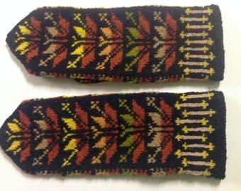Hand-knit Nordic mittens, Estonia