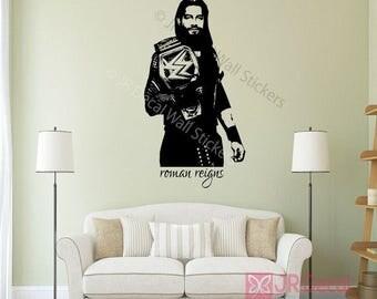 Wrestling superstars etsy for Wwe bathroom decor
