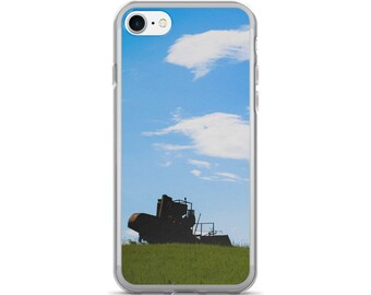 iPhone 7/7 Plus Case - Red Silo Original Art - Field Sentinel