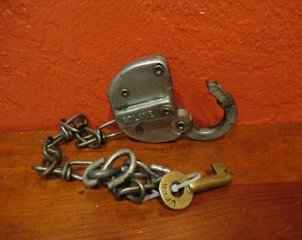 Vintage Adlake Railroad UP 1 Padlock