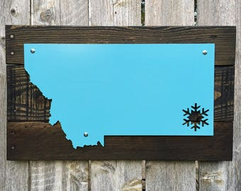 Montana Metal Snowflake