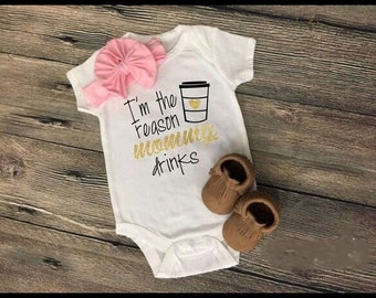 Im The Reason Mommy Drinks Onesie-Free Ship