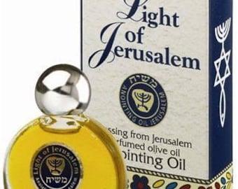 Light of Jerusalem - Messiah ( Masheiach ) Anointing oil - 7.5ml ( 1/4 OZ )
