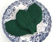 Felt Food Spinach, Playfood Salad Greens, Pretend Healthy Snacks, Fake Food Lettuce, Felt Vegetables, Felt Veggies