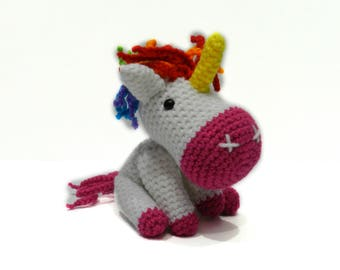 Unicorn Plush - Magical Unicorn - Unicorn Baby - Unicorn Props - Unicorn Photo Prop - Unicorn Party Favors - Unicorn Party Decor - Unicorn