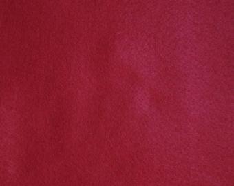 Felt Burgundy 1.5 mm A4 size sheet