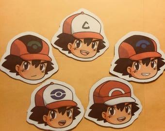 Ash Ketchum Magnets