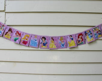 Vintage Disney Princess Bunting (Clubs)