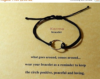 SALE Good Karma Eternity Circle Bracelet