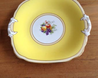 Vintage Grosvenor J&G Ye Olde English Tea Plate