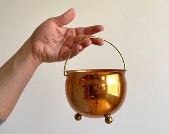 Vintage Copper Planter / Copper Pot