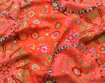 Millefiore Tomato Red GP92 Kaffe Fassett Collective Classics Free Spirit Fabric