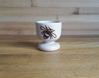 Bumble Bee Wooden Egg Cup